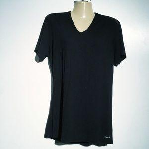 Calvin Klein Blouse Black Size Large
